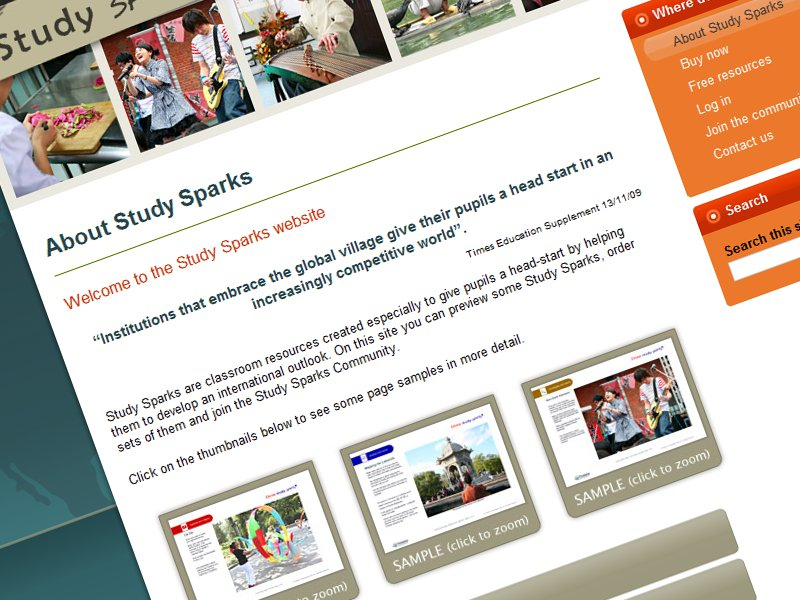 Study Sparks screenshot